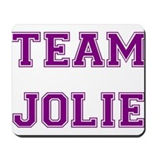 Team Jolie Purple Mousepad