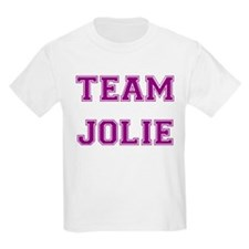 Team Jolie Purple Kids T-Shirt