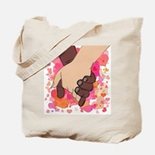 HOLDING HANDS 2 Tote Bag