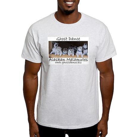 Ghost Dance Alaksan Malamute puppies Light T-Shirt