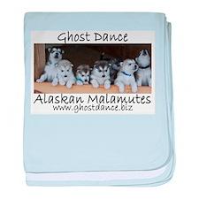 Ghost Dance Alaksan Malamute puppies baby blanket