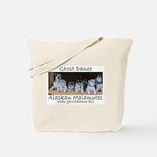 Ghost Dance Alaksan Malamute puppies Tote Bag