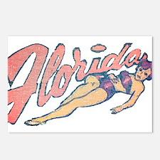 Vintage Florida Babe Postcards (Package of 8)