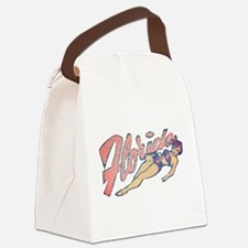 Vintage Florida Babe Canvas Lunch Bag