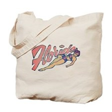 Vintage Florida Babe Tote Bag