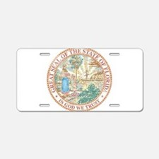 Vintage Florida Seal Aluminum License Plate