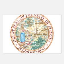 Vintage Florida Seal Postcards (Package of 8)
