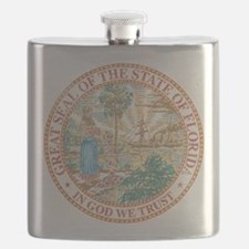 Vintage Florida Seal Flask