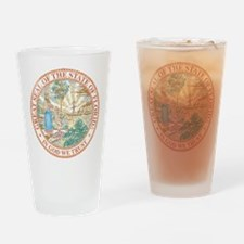 Vintage Florida Seal Drinking Glass