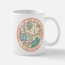 Vintage Florida Seal Mug