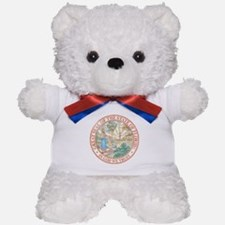 Vintage Florida Seal Teddy Bear