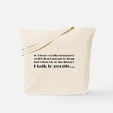 So I hear you like badasses Tote Bag