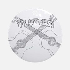 Florida Guitars Ornament (Round)