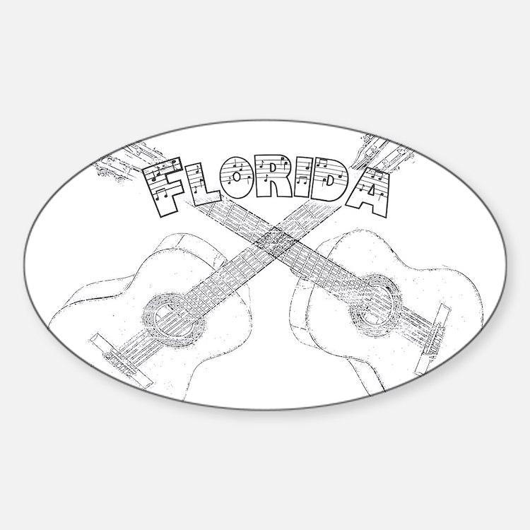 Florida Guitars Decal
