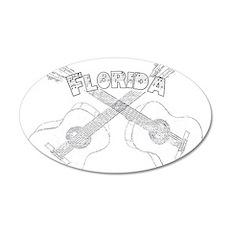Florida Guitars Wall Decal