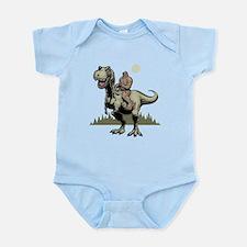Footin' On The Rex Infant Bodysuit