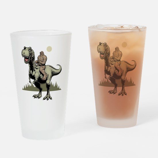 Footin' On The Rex Drinking Glass
