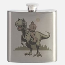 Footin' On The Rex Flask
