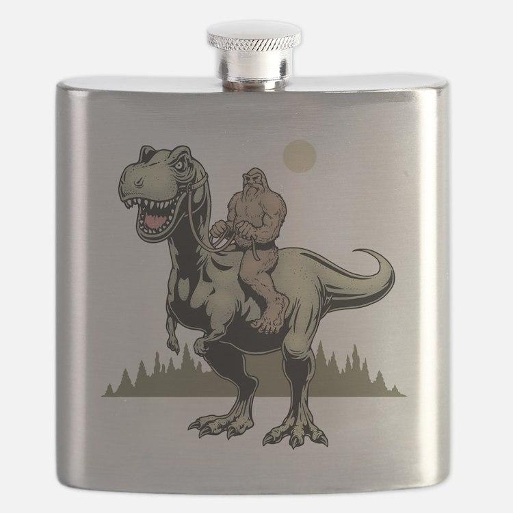 Footin' On The Rex Flask