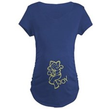 Dancing Ganesh Maternity T-Shirt