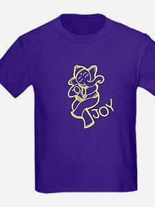 Dancing Ganesh Kids T-Shirt