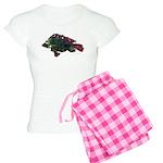 Bright Fish Print Pajamas