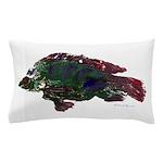 Bright Fish Print Pillow Case