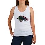 Bright Fish Print Tank Top