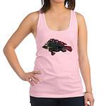 Bright Fish Print Racerback Tank Top