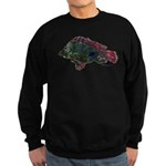 Bright Fish Print Sweatshirt