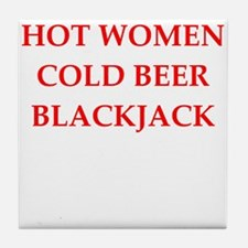 blackjack Tile Coaster