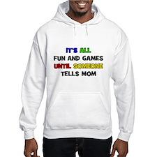 Fun & Games - Mom Hoodie
