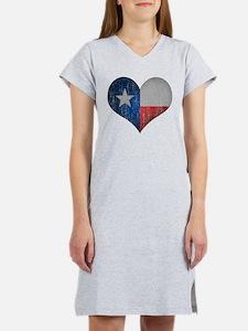 Faded Texas Love Women's Nightshirt