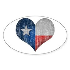 Faded Texas Love Decal