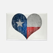 Faded Texas Love Rectangle Magnet