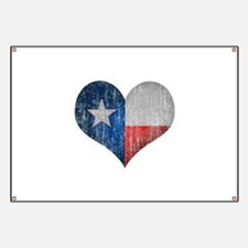 Faded Texas Love Banner