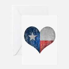 Faded Texas Love Greeting Card