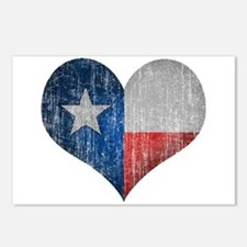 Faded Texas Love Postcards (Package of 8)