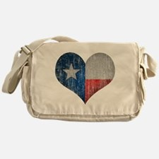 Faded Texas Love Messenger Bag