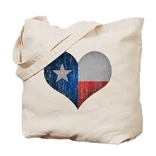 Faded Texas Love Tote Bag