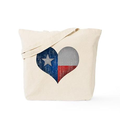 Faded Texas Love Tote Bag
