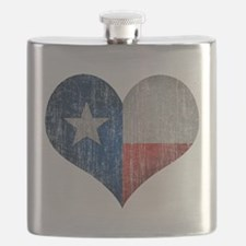 Faded Texas Love Flask