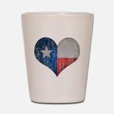 Faded Texas Love Shot Glass