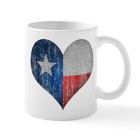 Faded Texas Love Mug