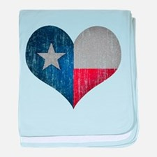 Faded Texas Love baby blanket