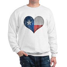 Faded Texas Love Sweatshirt