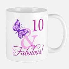 Fabulous 10th Birthday Mug