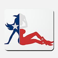 Texas Cowgirl Mousepad