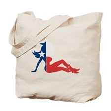 Texas Cowgirl Tote Bag