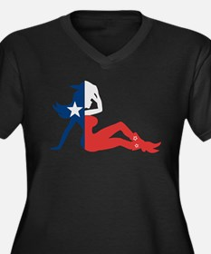 Texas Cowgirl Plus Size T-Shirt